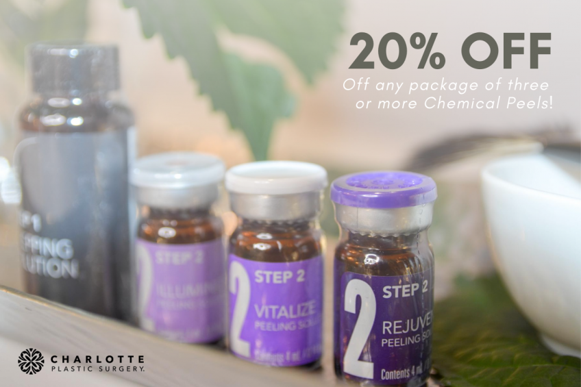 20% off Chemical Peel Package